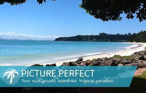 waterfront motel rangiputa beach
