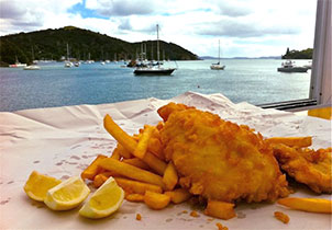 fish n chips doubtless bay